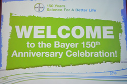 Bayer 150th Anniversary Celebration