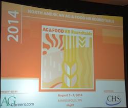 2014 AgCareers.com HR & Food Roundtable