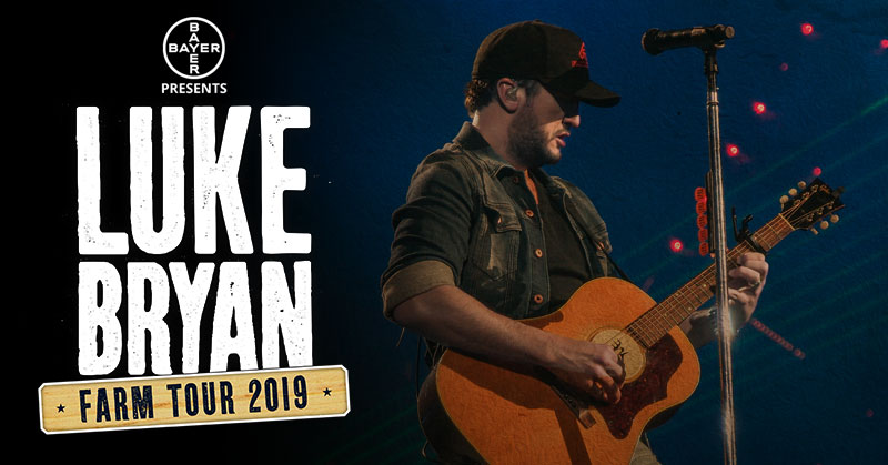 Luke Bryan 2019 Farm Tour